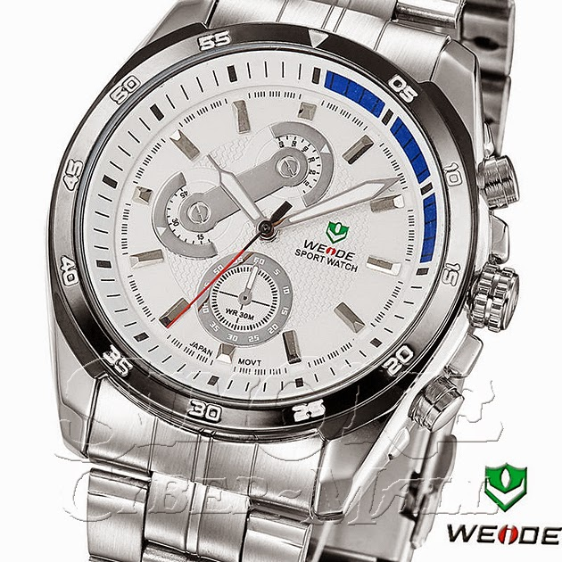 WEIDE – WH-1112-2: Quartz Sports Watch