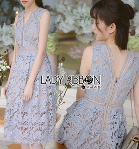 Lady Ribbon Mandy Sweet Modern Lace Dress