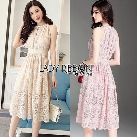 Lady Blaire Classic Elegant Lace Dress