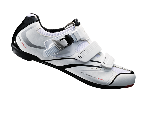 รองเท้าจักรยานเสือหมอบ Shimano R088 สีขาว