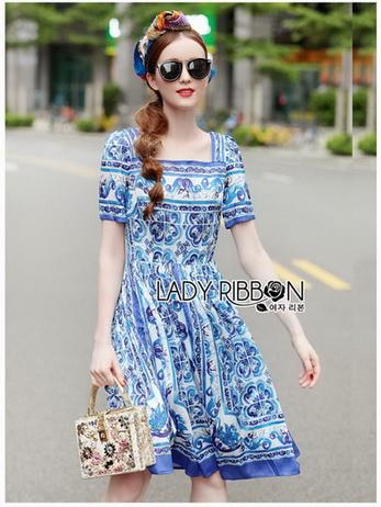 Lady Aerin Italian Sweet Blue & White