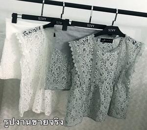 เสื้อผ้าแฟชั่นเกาหลีแขนกุด
