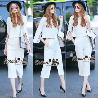 NA06290816 &#x1F389Normal Ally Present White suit elegance set&#x1F389