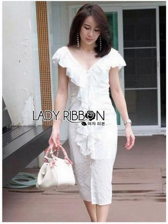 Lady Caroline Cotton Dress เดรสผ้าคอตตอน