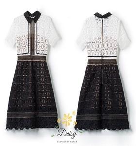 เสื้อผ้าเกรดพรีเมี่ยม กระโปงแฟชั่นแต่งสีดำ นำเข้าเกาหลีสวยมาก