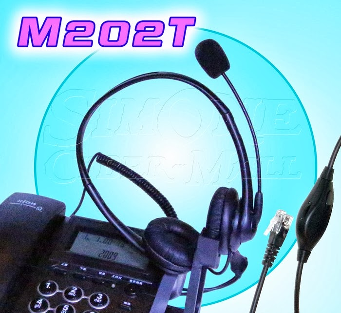 M202T Binaural Telephone Headset With Talk-Control