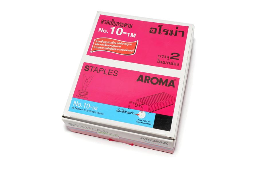 ลวดเย็บ AROMA No.10-1M