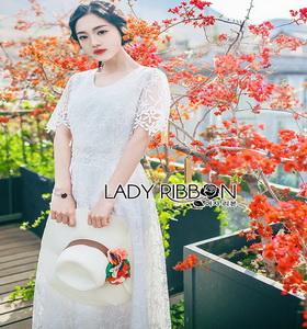 Maxi Dress Lady Ribbon เดรสยาว