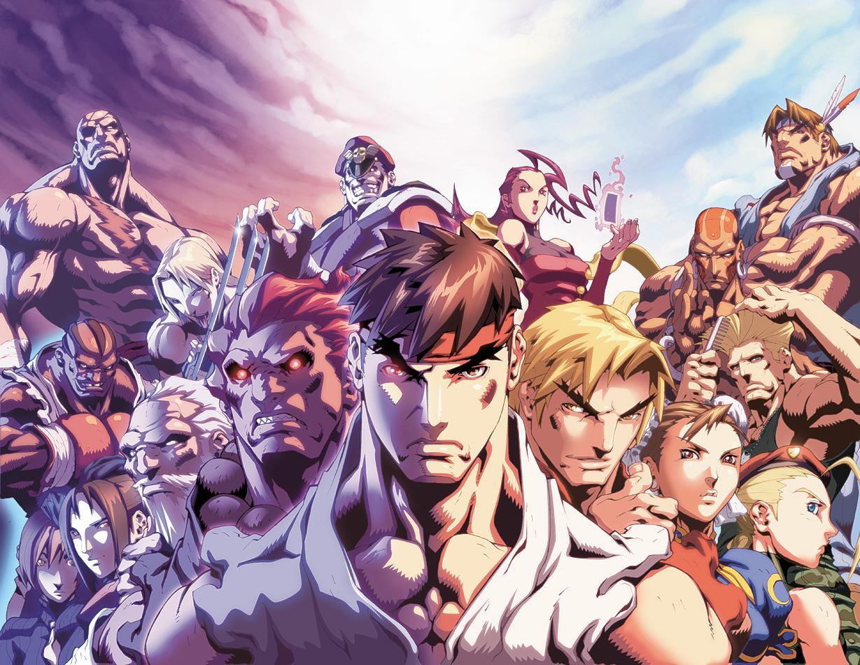 Street Fighter Zero 3 (จบ)