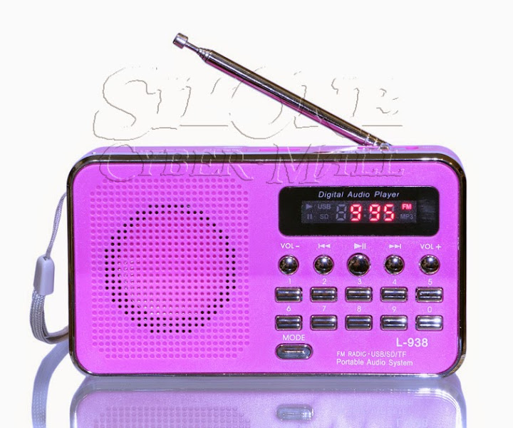 L-938 Mini FM Radio / MP3 Player / Speaker
