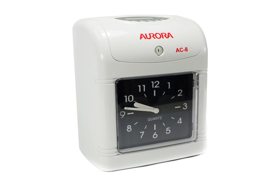 เครื่องตอกบัตร AURORA AC-8 **แถม! บัตรตอก และ แผงเสียบบัตร**