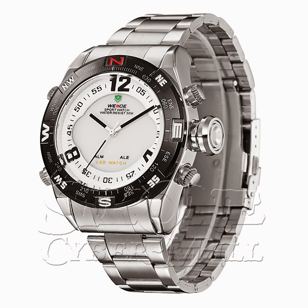 WEIDE – WH2310-2: Dual System with Hidden LED Spor
