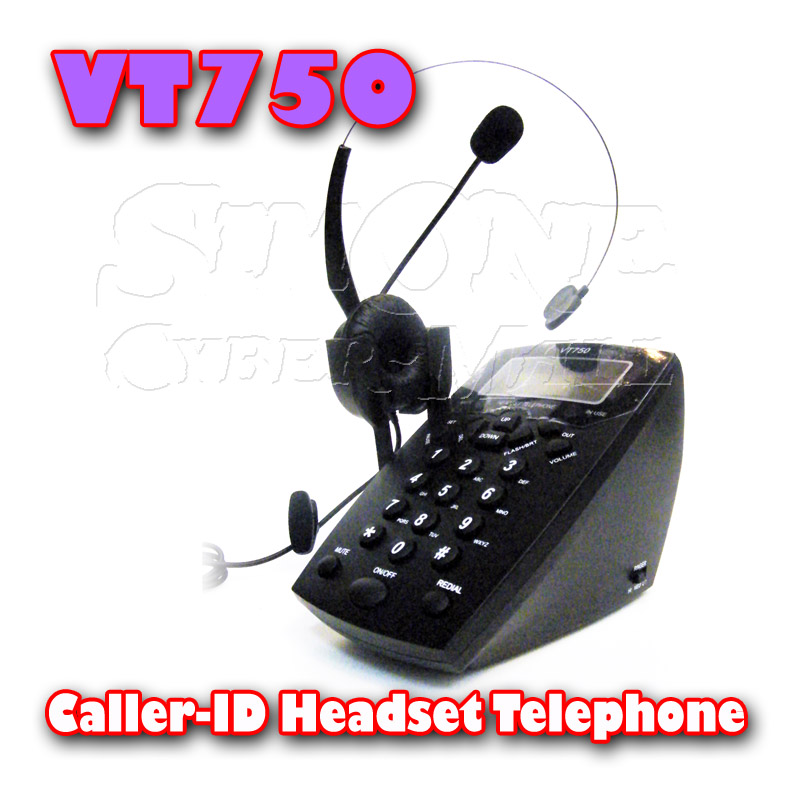 VT750 HEADSET TELEPHONE FOR CALL CENTER
