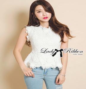 Lady Ribbon เสื้อแขนกุดคอสูง