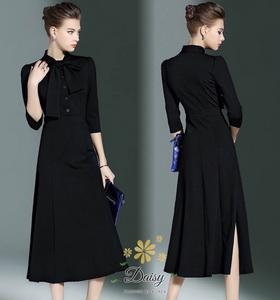 เสื้อผ้าแฟชั่น เดรสเกาหลีสีดำสวย