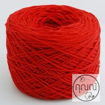 รหัส C16:ไหมคอตต้อนสีแดงสด