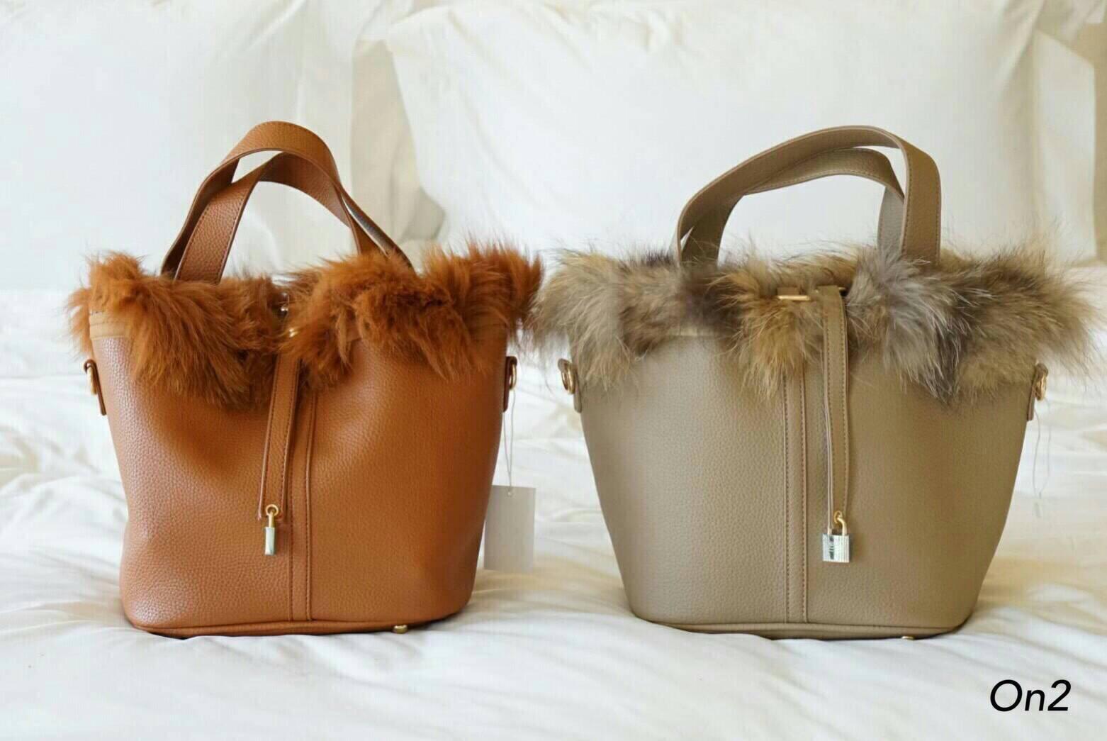 💞*Hermes Picotin Fur bag*💞