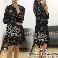 ST13310716 &#x1F340สินค้าพร้อมส่ง&#x1F340 한국에 의해 설계된 2Sister Made, Black Gorgeous Beauty Lace