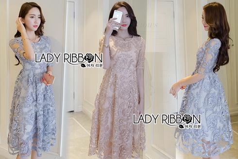 Lady Ribbon Cocktail Dress ค็อกเทลเดรส