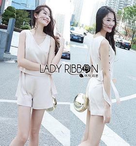 Lady Ribbon Michelle Minimal Chic Side-Ribbon