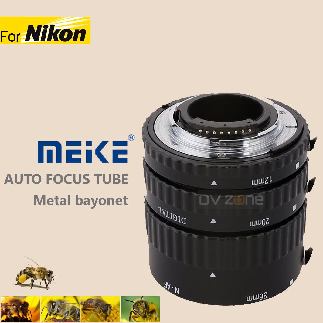MEIKE Macro Extension Tube Auto Focus For Nikon Metal bayonet
