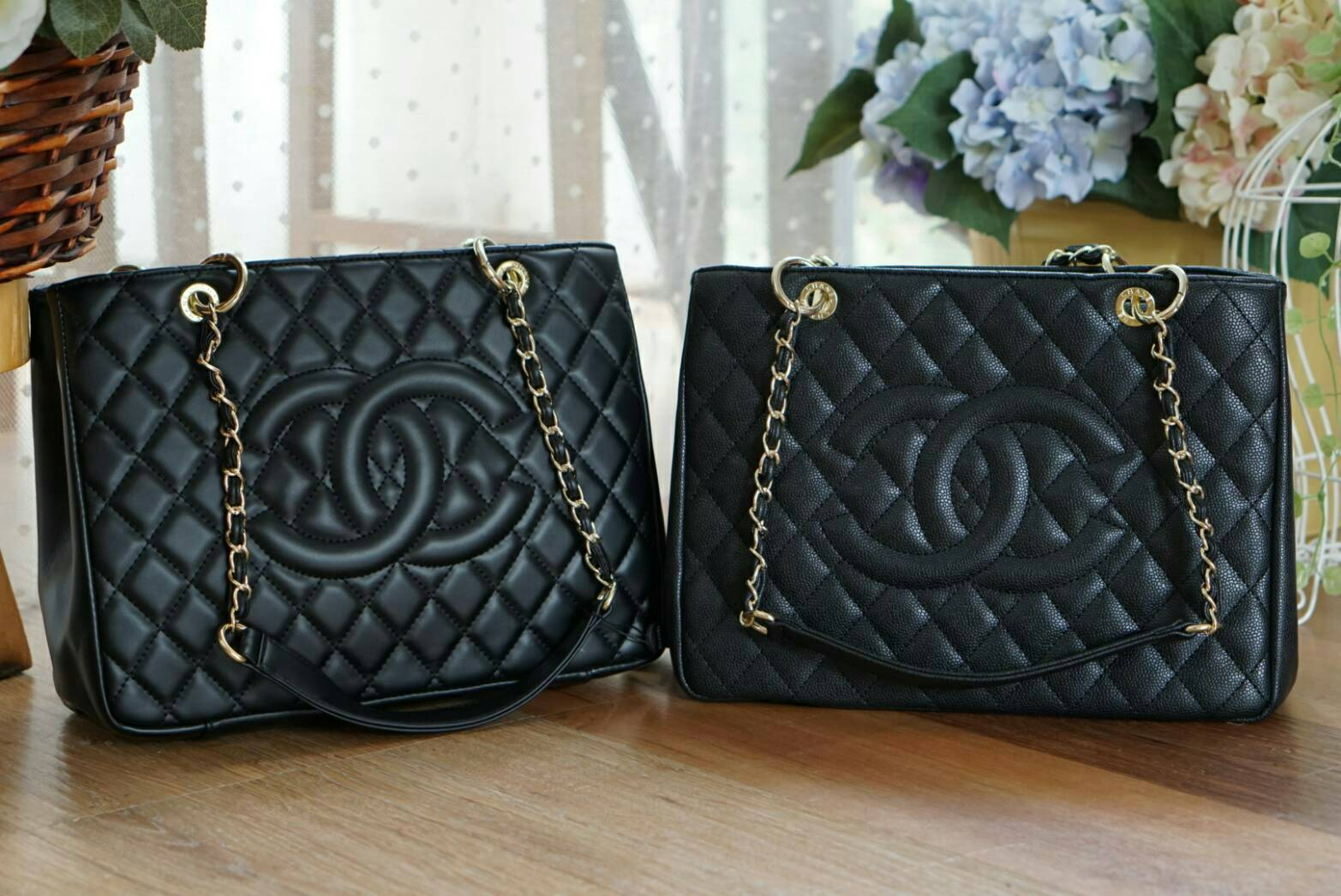 *Chanel Grand Shopping Tote Bag*