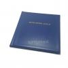 สมุดสะสมธนบัตร SJ ปกสีน้ำเงิน