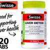 Swisse Liver Detox (สวิส อัลติบูส ลิเวอร์ ดีท็อกซ์) ล้างสารพิษในตับ
