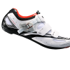 รองเท้าจักรยานเสือหมอบ Shimano R107 พื้นคาร์บอน สีขาว