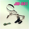 JM-501 DUAL HANDS WORK PIECE JIG WITH MAGNIFIER