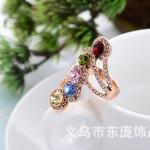 AX2520 - แหวนเพชร,แหวนเงิน,แหวน,แหวนคู่รัก,เครื่องประดับ full diamond bright silver plated alloy jewelry ring