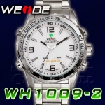 WEIDE – WH1009-2: Dual System with Hidden LED Sports Watch