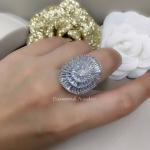Diamond Ring งานเพชร CZ แท้ เพชรปาเกต ความวิ้งแหวนเพชรเหมือนแท้ เกรดจิวรี่ ไม่ลอกไม่ดำ