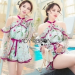 Lady Hana Spring Floral Tulle Playsuit