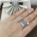 Diamond Ring งานเพชร CZ แท้ ประดับเพชรหยดน้ำตุ้งติ้งน่ารัก ดีไซส์โมเดิน เกรดจิวรี่ ไม่ลอกไม่ดำ