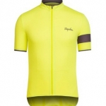 เสื้อปั่นจักรยานแขนสั้น สีเหลือง RAPHA
