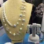 Chanel Necklace เกรดซุปเปร์ไฮเอน งานเพชร CZ แท้คัดเกรด มี 2 แบบ สร้อยเส้นเดียวและพัน 2 รอบ