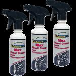 Qturf น้ำยาทำความสะอาดล้อแมกซ์และวงล้อ (Qturf max wheel cleaner for car) 230 มล. ชุด 3 ขวด