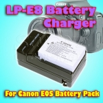Battery Charger For Canon LP-E8 Battery
