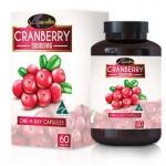 อาหารเสริม AuswellLife Cranberry แครนเบอร์รี่ 50,000 mg.3 กระปุก 180 แคปซูล