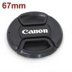 ฝาปิดหน้าเลนส์ Canon ขนาด 67mm