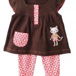**Winnie's** SM1878 Size 3/6, 6/9, 9/12m เสื้อผ้าเด็กขายส่ง ยกแพค 6 ชุดต่อแบบ ครบไซส์