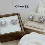 Diamond Earring ต่างหูเพชร CZ แท้ งานล้อมเพชร เกรดจิวรี่ ไม่ลอกไม่ดำ
