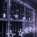 ไฟม่านดาว ไฟตกแต่งคริสมาสรูปดาว แสงขาว, แสงวอมไวท์