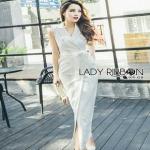Lady Ribbon Suit Dress ขายสูทเดรส