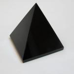 717 Obsidian Pyramid ขนาด 8 cm