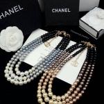 Chanel Pearl Necklace มุกญี่ปุ่นเงาวิ้ง ตะขอโซ่ชาแนลสีทอง ประดับโลโก้ชาแนลสีทอง