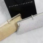 *Diamond Korea clutch bag luxury gold clutch*