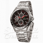 WH1110-1: Quartz Analog Stainless Steel Sports Watch