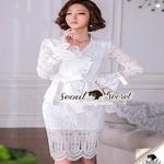 เสื้อผ้าแฟชั่นเกาหลีลุคสาวหวานงานสวยด้วยเสื้อทรงสูท